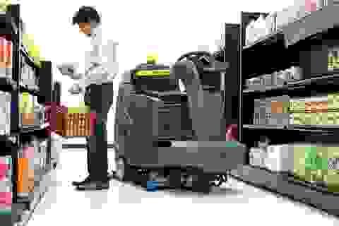Robot sẽ thay thế con người trong siêu thị?