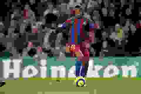 Cựu siêu sao Ronaldinho sẽ mang cúp UEFA Champions League đến Việt Nam