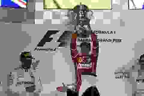 Đánh bại Hamilton và Bottas, Vettel có chiến thắng chặng thứ 2