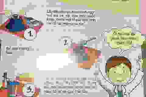 Phụ huynh hốt hoảng vì sách dạy trẻ làm thí nghiệm gây… cháy nổ