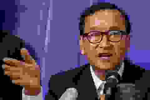 Cựu lãnh đạo đối lập Campuchia bị phạt 3,5 triệu USD