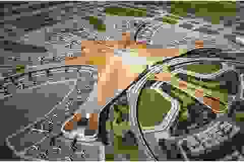 Chiêm ngưỡng sân bay lớn nhất thế giới mở cửa vào năm 2019