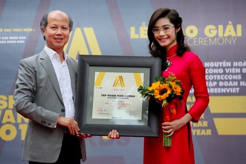 Tập đoàn Nam Cường xuất sắc nhận Giải thưởng Chủ đầu tư 2016