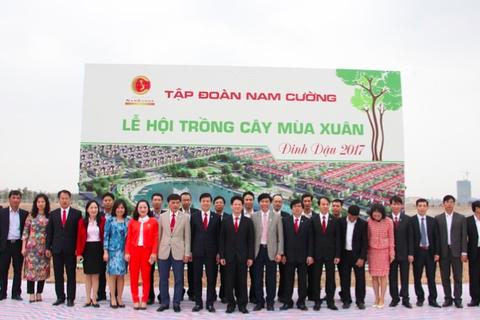 """""""Tết trồng cây"""" ở khu đô thị Zero Energy đầu tiên tại Việt Nam"""