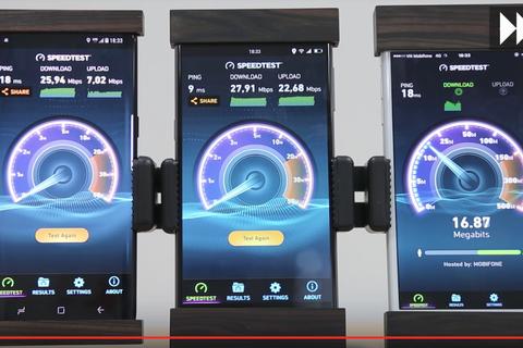 Bkav khoe tốc độ truyền tải 4G của Bphone 2