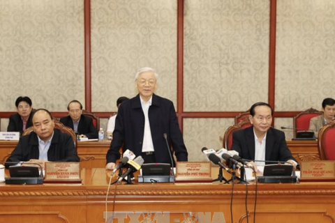 Bộ Chính trị làm việc với Thường vụ Thành ủy Hà Nội: Để Hà Nội trở thành thành phố rồng bay...