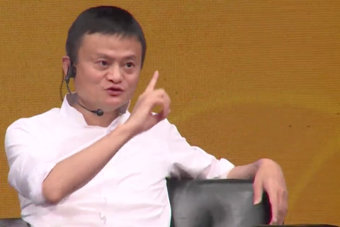 """Đối thoại với giới trẻ VN, tỷ phú Jack Ma: """"Đừng bao giờ bỏ cuộc"""""""