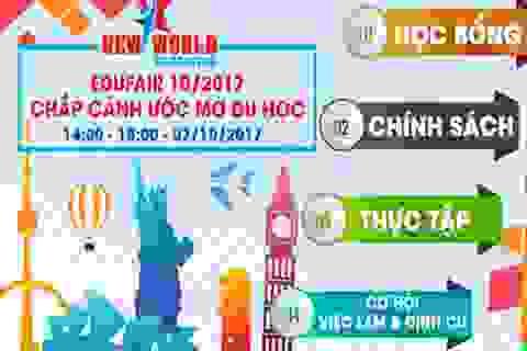 Edufair - Chắp cánh ước mơ du học Mỹ, Canada, Úc, New Zealand, Anh, Singapore và Philippines 2017-2018