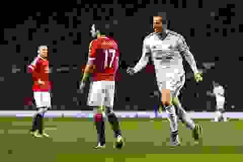 MU 1-1 Swansea: Chia điểm xứng đáng
