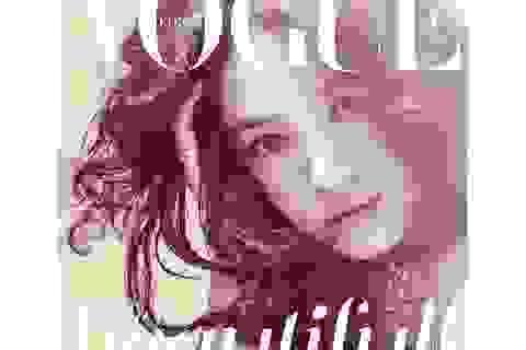 """""""Cô dâu tháng 10"""" Song Hye Kyo đẹp """"nao lòng"""" trên tạp chí"""