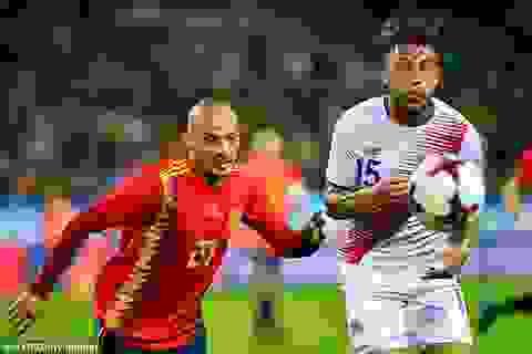 Tây Ban Nha 5-0 Costa Rica: Silva, Morata chói sáng