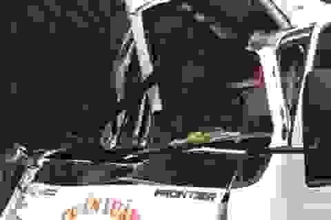 Tai nạn giao thông khiến một chiến sĩ công an tử vong