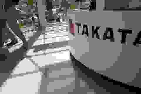Hãng túi khí Takata bên bờ vực phá sản