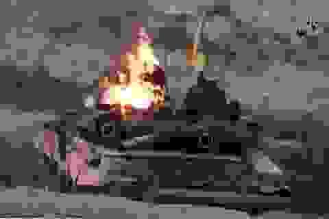 Tăng T-90 lần đầu bị bắn hạ tại Syria