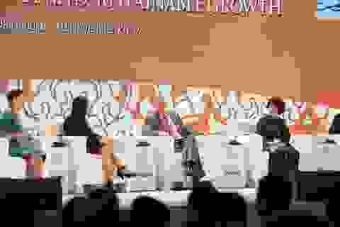 Hai nữ CEO đối thoại với nguyên thủ tại CEO Summit