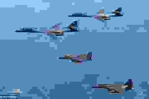 """Mỹ - Hàn huy động máy bay chiến đấu tập trận """"nắn gân"""" Triều Tiên"""