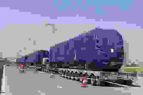 Cẩu 400 tấn đưa tàu Cát Linh - Hà Đông lên ray đường sắt?