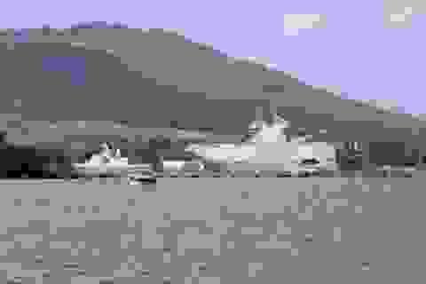 Tàu Mistral mắc cạn do không nhìn thấy chướng ngại vật