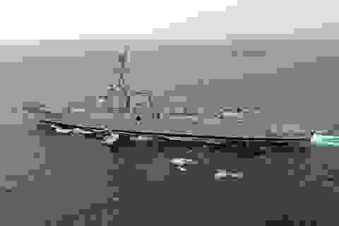 Trung Quốc lớn tiếng đòi tàu Mỹ rời khỏi Biển Đông