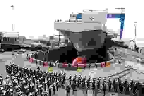 Anh hạ thủy siêu tàu sân bay trị giá 4,1 tỉ USD