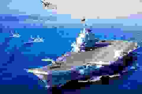 Trung Quốc xin lỗi về thảm họa Photoshop trên áp-phích tàu sân bay