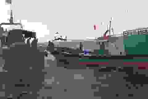Truy bắt, xua đuổi 3 tàu cá Trung Quốc xâm phạm vùng biển Việt Nam
