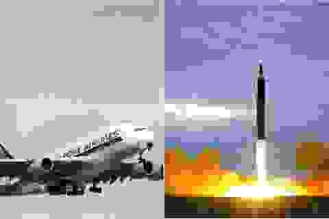 Hãng hàng không Singapore chuyển đường bay tránh tên lửa Triều Tiên