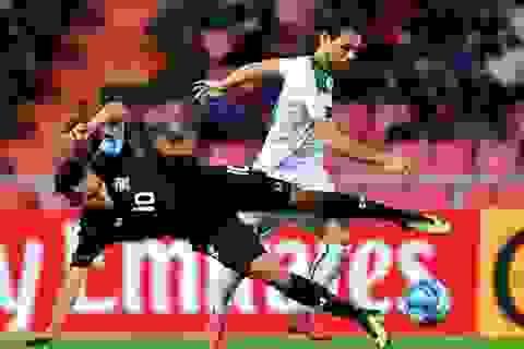 Thái Lan thua Iraq sau quả phạt đền gây tranh cãi