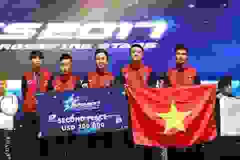 Tuyển thể thao điện tử Việt Nam đoạt ngôi Á Quân thế giới