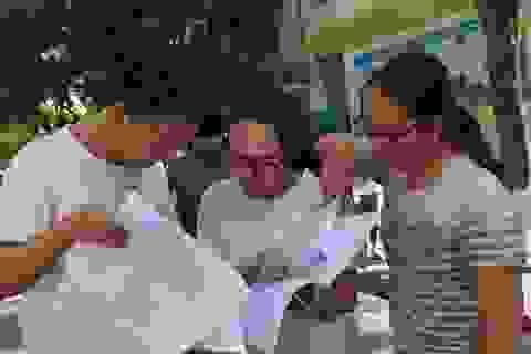 Môn Toán - Đề thi và đáp án chính thức THPT quốc gia 2017
