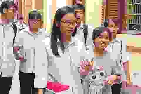 Môn Hóa học - Đề thi và đáp án chính thức THPT quốc gia 2017
