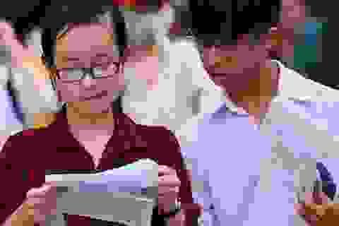 """Hà Nội: Đề thi khảo sát lớp 12 môn tổ hợp """"an toàn"""""""