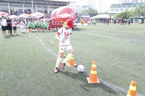 18 tài năng nhí bóng đá Việt nam có cơ hội du đấu tại Nhật Bản