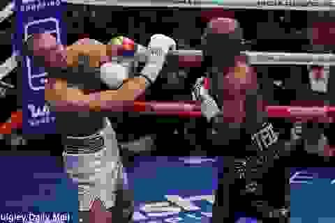 """""""Độc cô cầu bại"""" Mayweather hạ knock-out McGregor"""