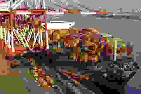 Mức tăng xuất khẩu sang Trung Quốc lần đầu vượt xa mức tăng nhập khẩu