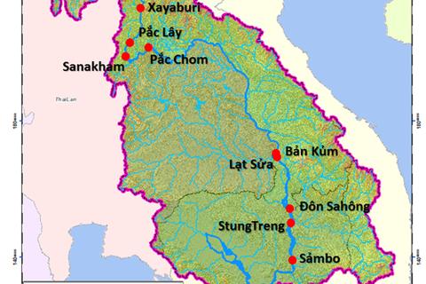 Đề nghị Lào đánh giá chính xác tác động của thuỷ điện Pắc Beng