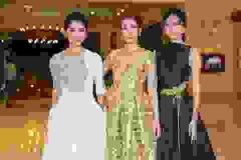 Á hậu Thuỳ Dung xuất hiện sau tin đồn tham gia Miss International 2017