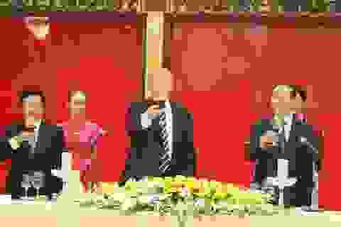 Chủ tịch nước mở tiệc chiêu đãi cấp Nhà nước Tổng thống Donald Trump