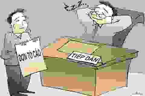 Giám đốc Sở Tài chính bị đề nghị kiểm điểm nghiêm túc vì không tiếp dân