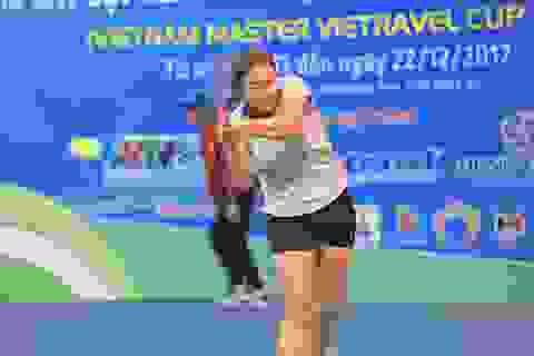 Bông hồng lai 17 tuổi vô địch đơn nữ tại giải đấu các cây vợt xuất sắc Việt Nam