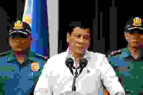 Sau ma túy, ông Duterte tuyên chiến với cờ bạc