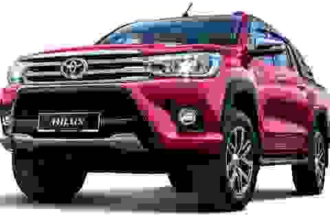 Toyota Hilux có bản nâng cấp mới