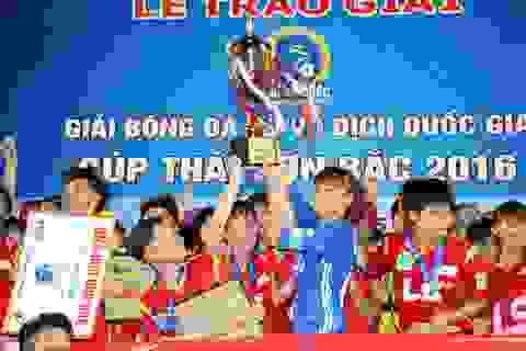 Hơn 700 triệu đồng tiền thưởng cho Giải bóng đá nữ VĐQG