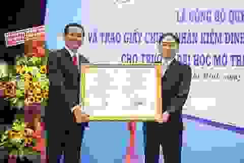 Thêm một đại học đạt chuẩn kiểm định chất lượng của Bộ GD-ĐT