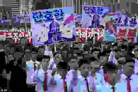 Hàng chục nghìn người Triều Tiên tuần hành chống Mỹ giữa lúc căng thẳng