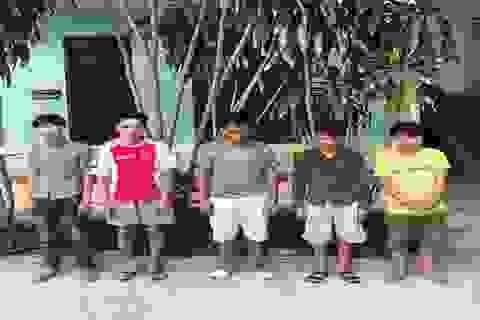 Ổ nhóm trộm xe máy liên huyện sa lưới