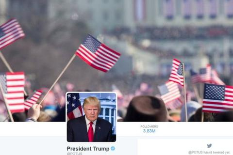 Tổng thống Trump đưa nhầm ảnh lễ nhậm chức của ông Obama lên Twitter