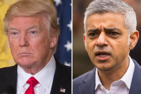 """Thị trưởng London nói ông Trump """"hành xử như trẻ nhỏ"""""""