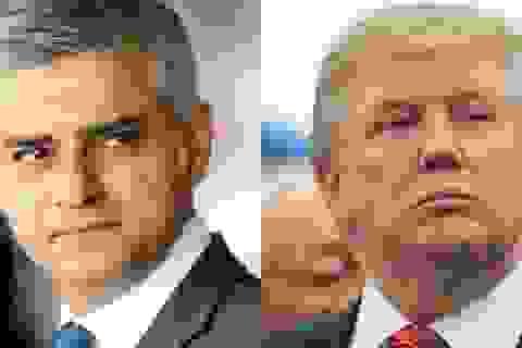 """Tổng thống Trump và Thị trưởng London """"đấu khẩu"""" về vụ khủng bố tại Anh"""