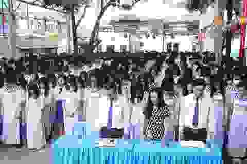 TPHCM: Học sinh xúc động tưởng niệm sự kiện Gạc Ma